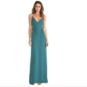 Rory Beca Harlow Maxi Dress Gown in Leander Teal